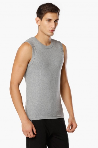 JOCKEY Solid Sleeveless T-Shirt