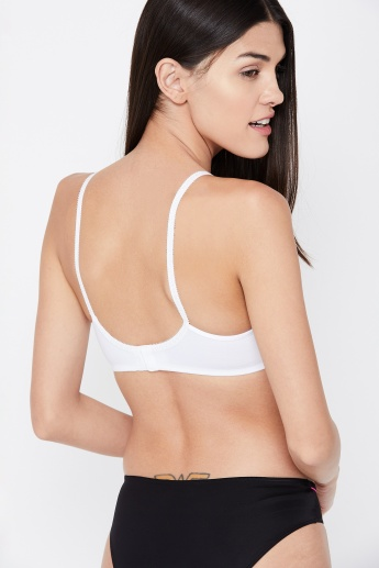 check out sale usa online fantastic savings JOCKEY Lace Insert Non-Padded T-shirt Bra