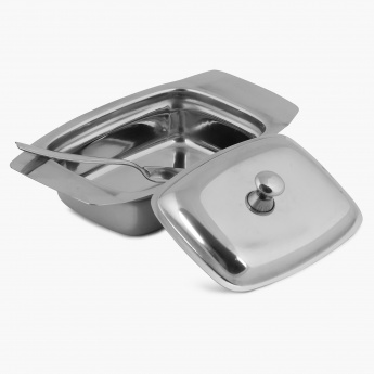 Glovia Stainless Steel Butter Dish