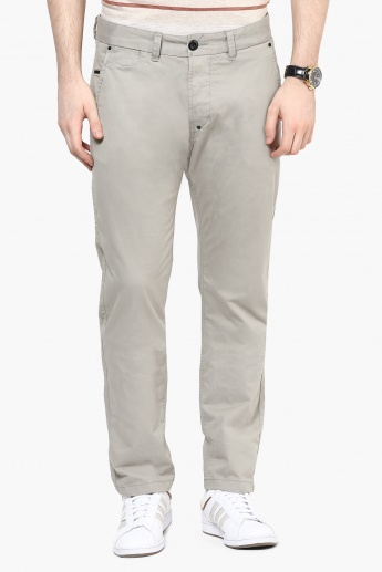 BREAKBOUNCE Slim Fit Casual Pants