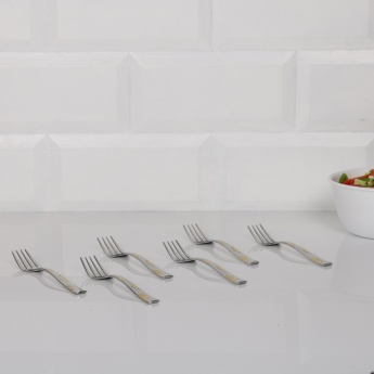 FNS Jazz Dessert Fork-Set Of 6 Pcs.