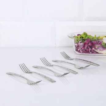 FNS Orbit Dessert Fork - 6 Pc Set