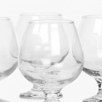 Abigail Brandy Glass Set- 4 Pcs.