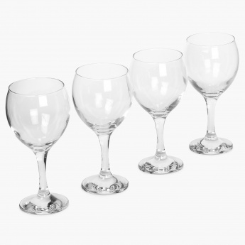Abigail Stem Glass Set- 4 Pcs.