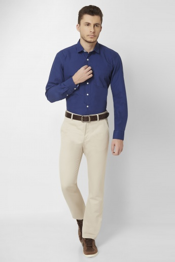 ALLEN SOLLY Slim Fit Trousers