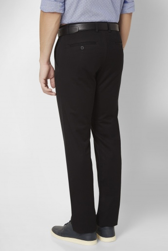 ALLEN SOLLY Flat Front Trousers