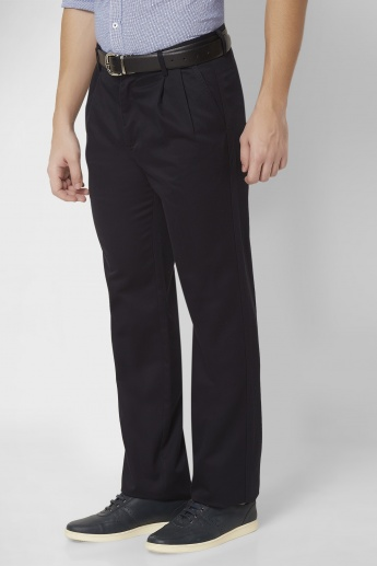 ALLEN SOLLY Pleated Trousers