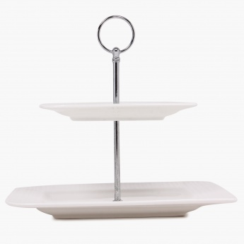 Alamode Two Tier Cake Stand