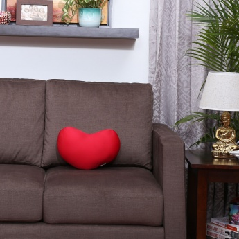 Bean Filled Heart Cushion - 33 x 28 CM