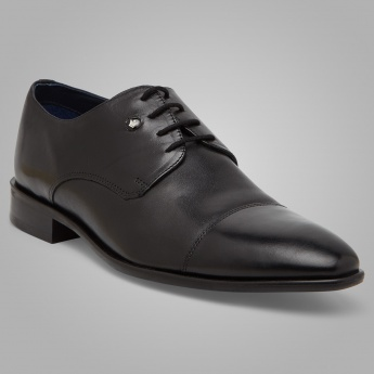 LOUIS PHILIPPE Cap Toe Derby Shoes