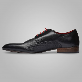 ALBERTO TORRESI Perforated Oxford Shoes