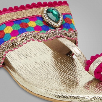 MELANGE Bright Touch Sandals