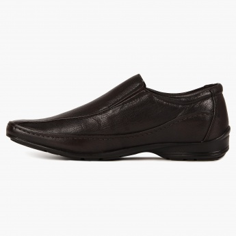 FRANCO LEONE Classic Crease Slip Ons Shoes