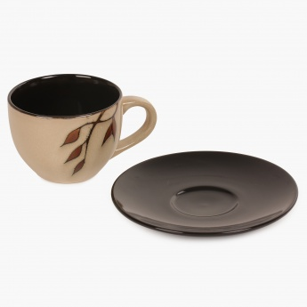 Caraway Cup And Saucer- Set Of 13 Pcs. - 220 ml