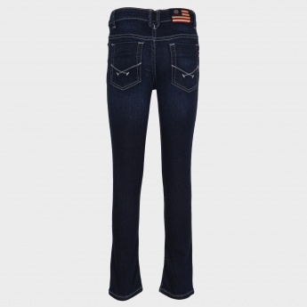 U.S. POLO ASSN. Whiskered Five-Pocket Jeans