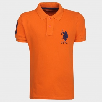U.S POLO Kids Polo Neck T-Shirt