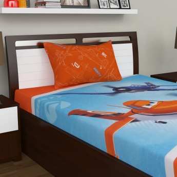 Kids Planes Single Bedsheet Set