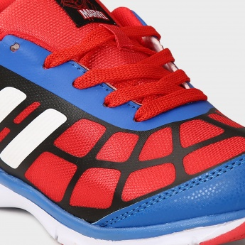 BIOWORLD Spiderman Lace Up Shoes