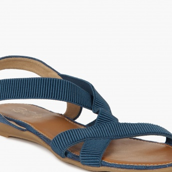 RAW HIDE Strappy Sandals
