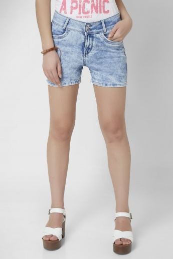 XPOSE Acid Wash Shorts