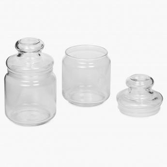 OCEAN Storage Jar - Set Of 2 Pcs.