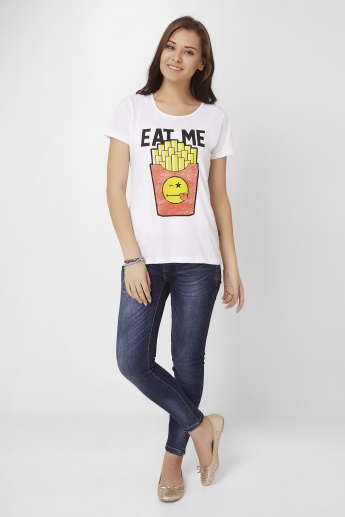 SMILEY Eat Me T-Shirt