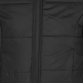 JUNIORS Hooded Quilted Jacket