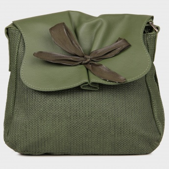 BAGGIT Quick Jhuti Bow Detail Sling Bag