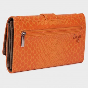 BAGGIT Printed Flap Over Wallet