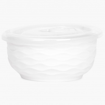 Brook Ceramic Bowl With Lid