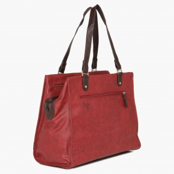 BAGGIT Finesse Textured Handbag