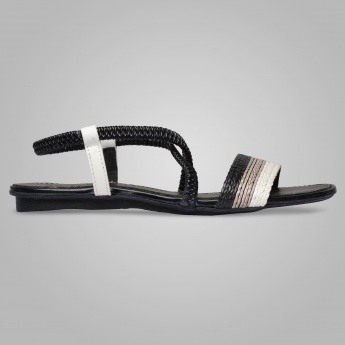 RAW HIDE Braided Fusion Sandals