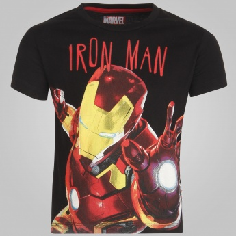 KIDSVILLE Crew Neck Iron Man T-Shirt