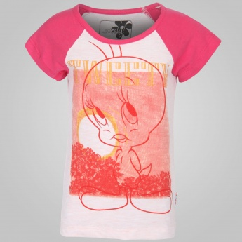 KIDSVILLE Tweety Print Top