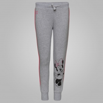 KIDSVILLE Minnie Mouse Print Track Pants