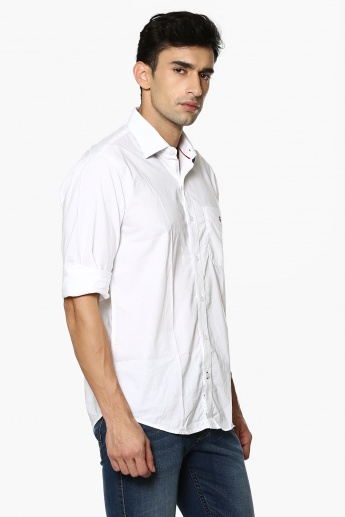 LP Solid Casual Shirt