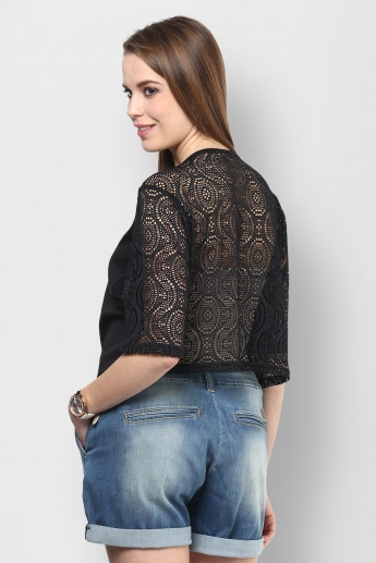 GLOBAL DESI Boxy Birdie Top