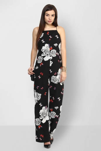 ONLY Flutter & Petals Strappy Jumpsuit