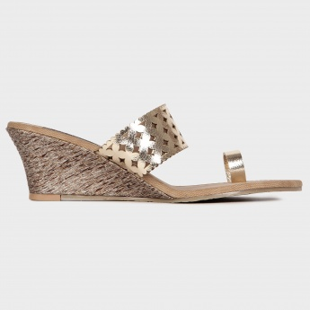 RAW HIDE Laser Cut Strap Sandals