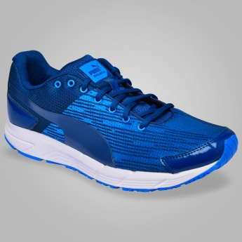 PUMA Sequence  Lace-Up Running Shoes