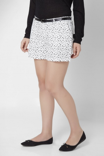 ONLY Monochrome Printed Shorts