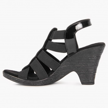 CATWALK Elasticated Strap Heels
