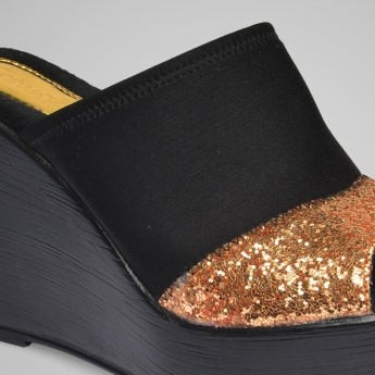 CATWALK Glitter Game Wedge Heels