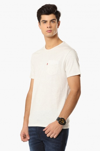 LEVI'S Patch Pocket Crew-Neck T-Shirt