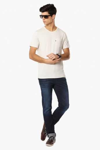 LEVI'S Patch Pocket Crew Neck T-Shirt