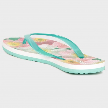 GINGER Summer Bloom Flip Flops