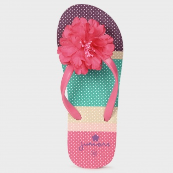 JUNIORS Flower Power Slippers
