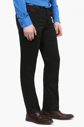 CODE Flat Front Formal Trousers