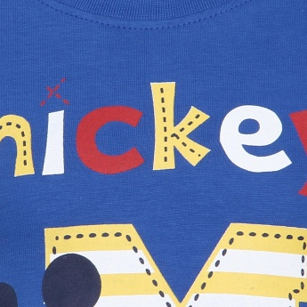 JUNIORS Mickey Print T-Shirt
