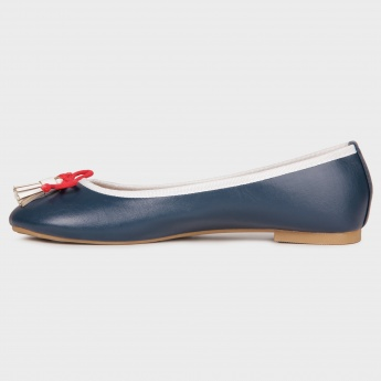 GINGER Flat Bow Round Toe Flats